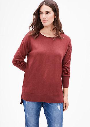 Pulover z volno in kašmirom