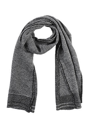 Purl knit scarf from s.Oliver