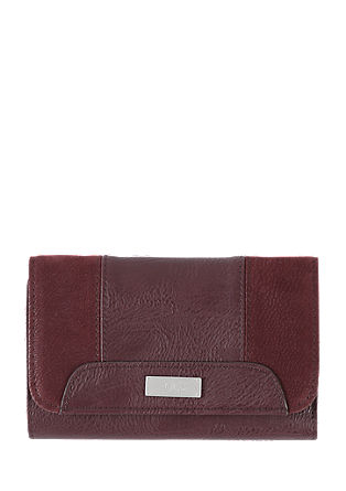 Purse in a mix of textures from s.Oliver