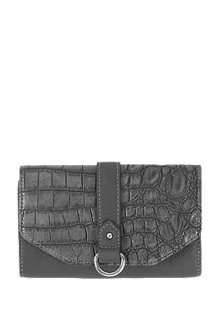 Purse in imitation snakeskin leather from s.Oliver