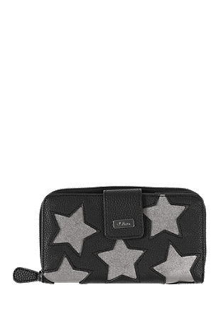 Purse with metallic stars from s.Oliver