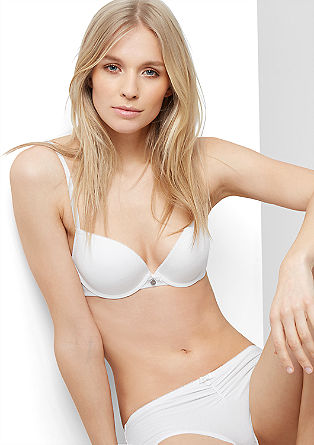 Push-up bra with a halterneck function from s.Oliver
