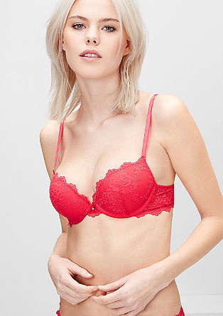 Push-up lace bra from s.Oliver