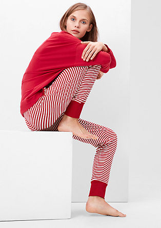 Pyjama bottoms with cuffs from s.Oliver