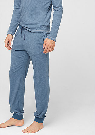 Pyjamahose aus Jersey