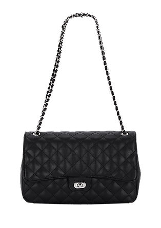 Quilted leather look bag from s.Oliver