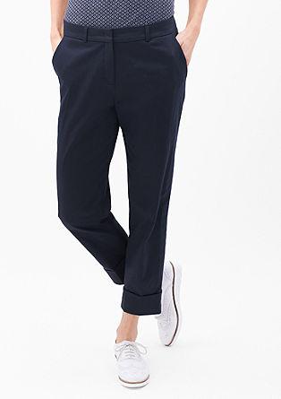 Rachel straight: pantalon met kortere pijpen