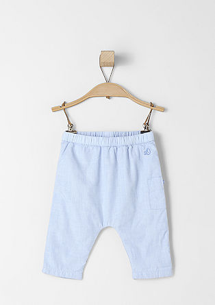 Rahlo podložene bombažne hlače