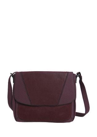 Ramenska torbica iz kombinacije materialov