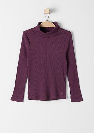 Raztegljiv pulover s puli ovratnikom