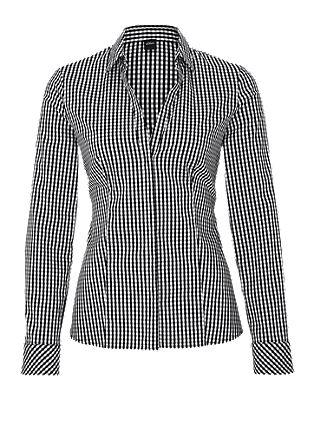 Raztegljiva bluza v dizajnu Vichy