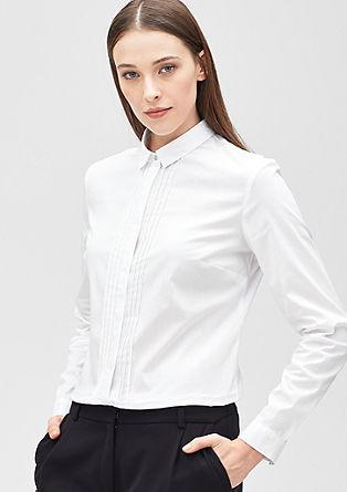 Raztegljiva bluza z naborki