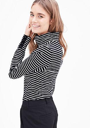 Raztegljiva majica s puli ovratnikom