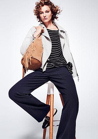 raztegljive hlače daljšega kroja