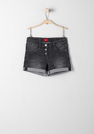 Raztegljive jeans kratke hlače