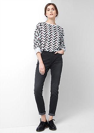 Reena Skinny: High-Waist-Jeans