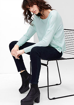 Reena Slim: jeans hlače, dolžine do gležnjev