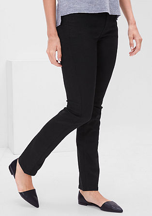 Regular: black denim jeans from s.Oliver