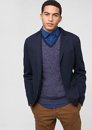 Regular: Casual single-breasted jacket from s.Oliver