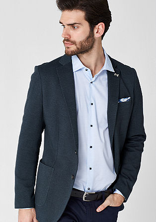 Regular: Casual tailored jersey jacket from s.Oliver