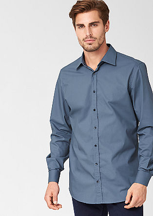 Regular: classic business shirt from s.Oliver