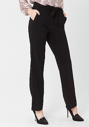 Regular: classic business trousers from s.Oliver