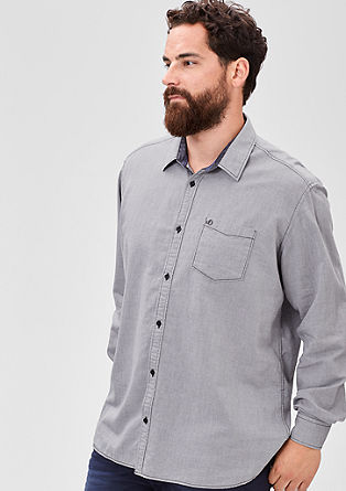 Regular: Classic cotton shirt from s.Oliver