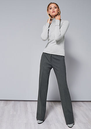 Regular: elegant stretch trousers from s.Oliver
