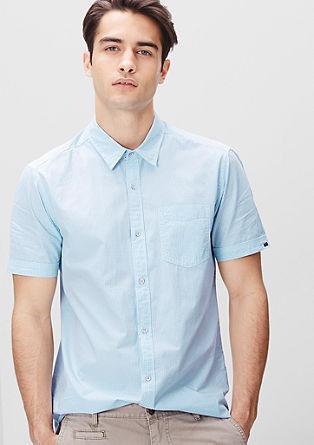 Regular: gingham check shirt from s.Oliver
