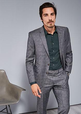 Regular: Glen plaid jacket from s.Oliver