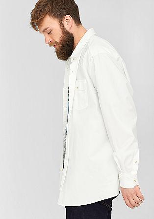 Regular: Hemd mit Brusttasche