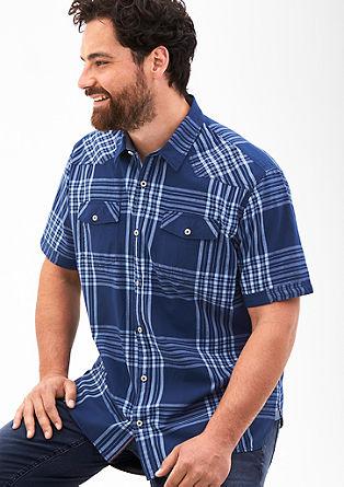 Regular: Hemd mit Brusttaschen