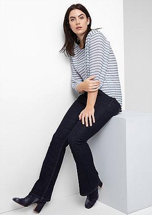 Regular: Highwaist Flared Jeans