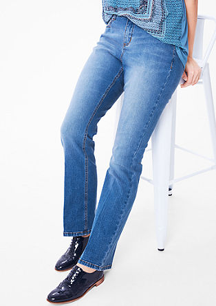 Regular: Jeans hlače na zvon