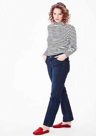 Regular: Jeans mit geradem Bein