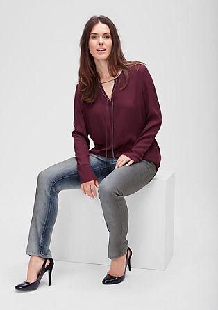 Regular: Jeans mit schmalem Bein