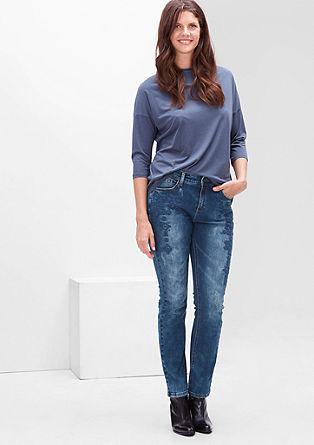 Regular: jeans z vezenjem
