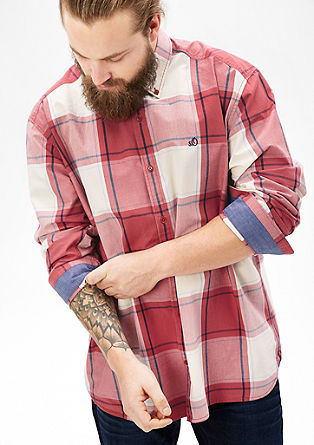 Regular: Karirasta srajca iz bombaža