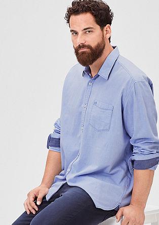 Regular: Klassisches Baumwollhemd