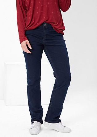 Regular: lahke raztegljive jeans hlače