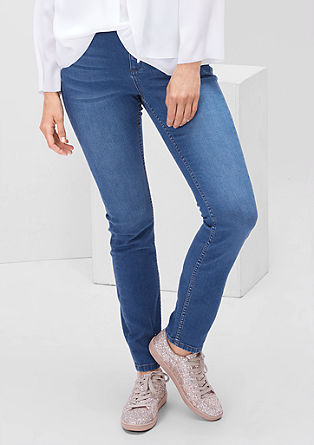 Regular: Leichte Stretch-Jeans