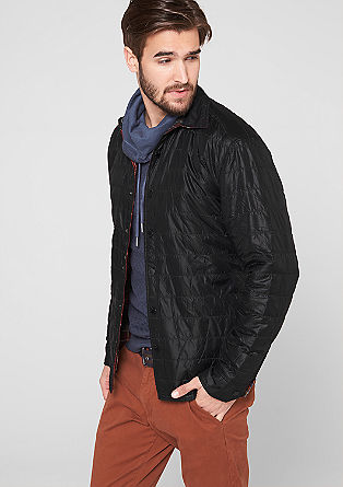 Regular: lined reversible jacket from s.Oliver