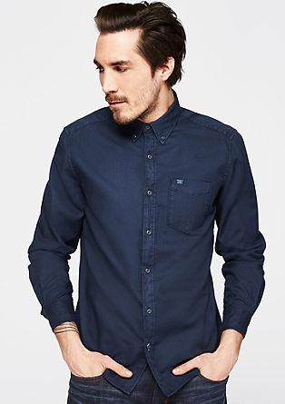 Regular: minimalistisch overhemd van katoen