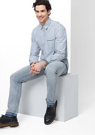 Regular: Modisches Fineliner-Hemd