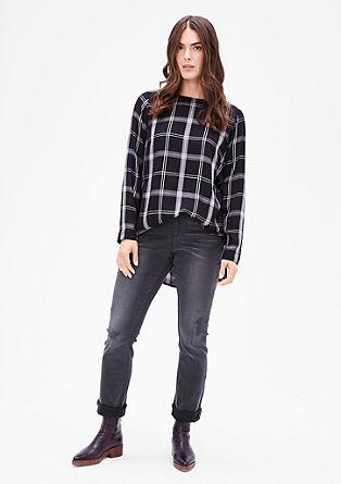 Regular: ozke, raztegljive jeans hlače