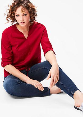 Regular: ozke jeans hlače za oblikovanje postave