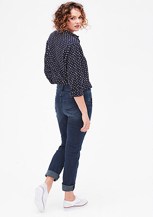 Regular: ozke raztegljive jeans hlače