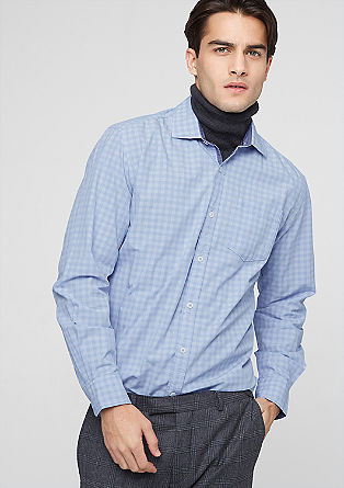 Regular: shirt with Vichy checks from s.Oliver