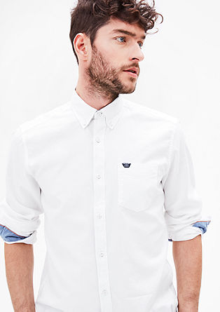 Regular: Simple cotton shirt from s.Oliver