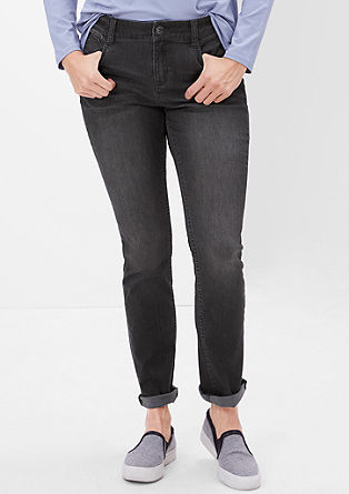 Regular: slim fit stretchjeans
